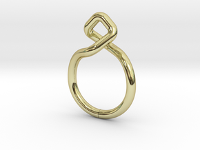 """""""A Line"""" Dancing D.01, d=16,5mm (alls sizes on dem in 18k Gold Plated"""