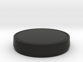 Single Part Base - Suitable for custom Amiibo in Black Strong & Flexible