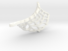 PATEERB TWIST4 in White Strong & Flexible Polished