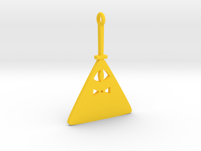 Bill Cipher in Yellow Strong & Flexible Polished