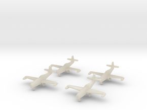 1/350 Yakovlev Yak-23 (landing gear down) x4 in White Acrylic