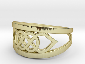 Size 7 Knot C6 in 18k Gold Plated