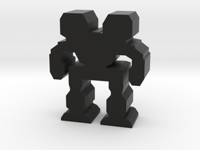 Game Piece, Heavy Advanced Mech in Black Strong & Flexible