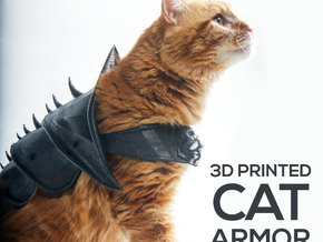 Cat Armor in White Strong & Flexible
