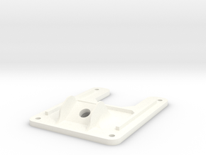 Minimalistic Emax Nighthawk 280 - Minimal Top Plat in White Strong & Flexible Polished