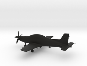PC-21 Turboprop 10cm highly detailed in Black Strong & Flexible