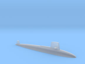 Skipjack class SSN, 1/1800 in Frosted Ultra Detail