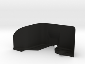 Vaterra Ascender Left Rear Inner Fender in Black Strong & Flexible