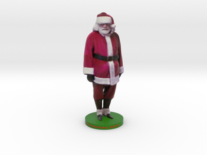 Santa in Full Color Sandstone