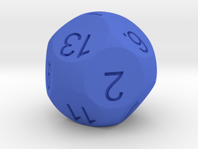 D13 for Impact! Miniatures in Blue Strong & Flexible Polished