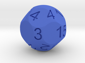 D15 for Impact! Miniatures in Blue Strong & Flexible Polished