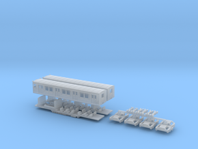 ET165 - Berliner S-Bahn (Z, 1:220) in Frosted Ultra Detail