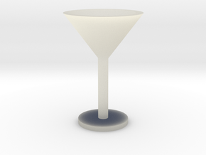 Martini glass mini in Transparent Acrylic