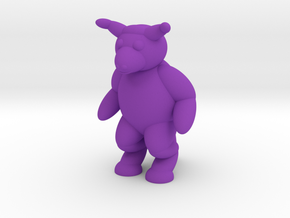Minotaur (Nikoss'Creatures) in Purple Strong & Flexible Polished