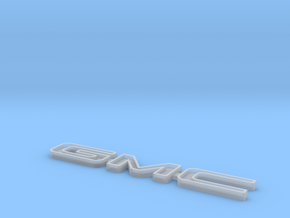 Tamiya Clodbuster Gmc Tailgate Emblem in Frosted Extreme Detail