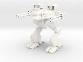 Mech in White Strong & Flexible Polished