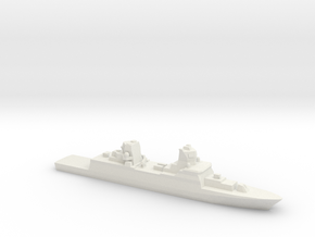 FGS F125 Class Frigate, 1/1800 in White Strong & Flexible