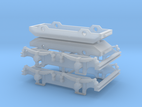 900-100 ZE AB1-6 B1-5 Draaistel Bogie in Frosted Ultra Detail