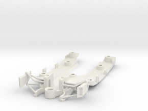 312 T4 Chassis in White Strong & Flexible