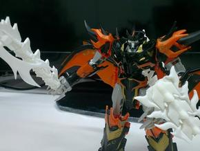 TFP Voyager Beast King Tail/Sword Complete in White Strong & Flexible