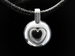 Love in Rhodium Plated