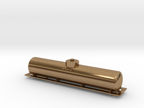 BN Fuel Tender - Metal - Zscale in Raw Brass