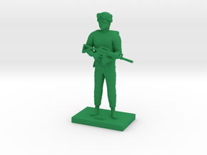 Lieutenant Lee in Green Strong & Flexible Polished