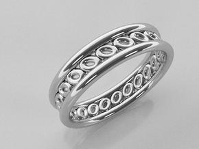 GBW6 Wmns Loop Band in 14k White Gold