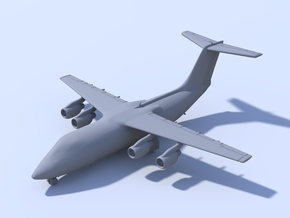 1:500 BAE 146-200 [x2][A] in Frosted Ultra Detail