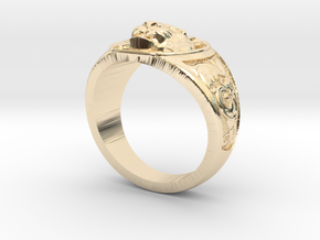 Tiger ring #4  size 9.5 in 14K Gold