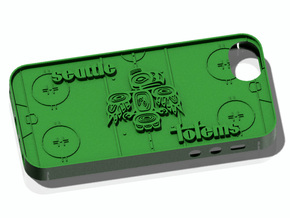 iPhone 5 Seattle Totems in Green Strong & Flexible Polished
