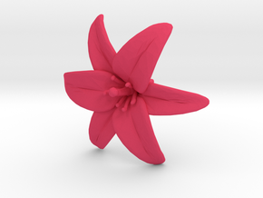 Lily Blossom (Medium) in Pink Strong & Flexible Polished