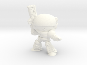 CORPORATION SERGEANT in White Strong & Flexible Polished
