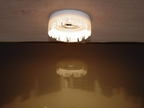 City lights small halogen light shade in White Strong & Flexible