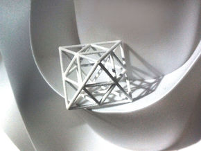 octahedron in White Strong & Flexible