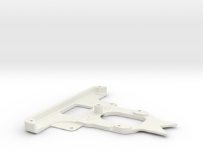 Kyosho Miniz F1 010 front bumper in White Strong & Flexible