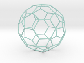 0472 Truncated Icosahedron E (18.5 �м) #007 in Full Color Sandstone