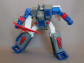 Transformers Gum Fortress Maximus Add-on Parts in White Acrylic