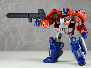 Transformers CHUG Optimus Prime Blaster in Black Strong & Flexible