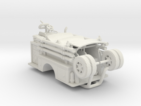 Mack Pumper Body 1:64 in White Strong & Flexible