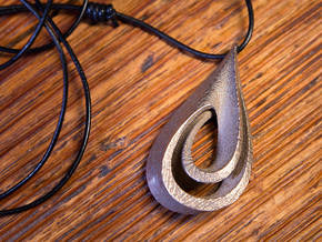 Drop Pendant in Stainless Steel