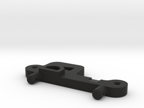 Hornet Battery Tray Retainer with Tab Trans in Black Strong & Flexible
