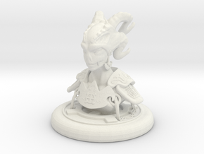 Mini Nex Bust in White Strong & Flexible