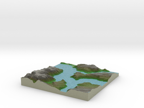 Terrafab generated model Fri Feb 26 2016 23:20:06  in Full Color Sandstone