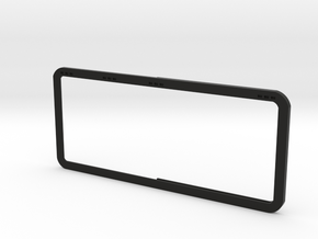 Open Rear Side Window Left D90 D110 Gelande 1:10 in Black Strong & Flexible