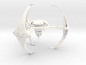 Deepspace 5 Outpost in White Strong & Flexible Polished