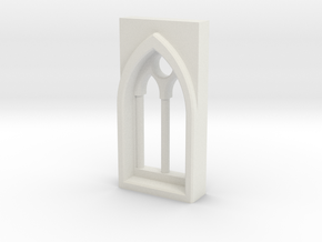 building details series - Gothic Window 5mm Type 2 in White Strong & Flexible