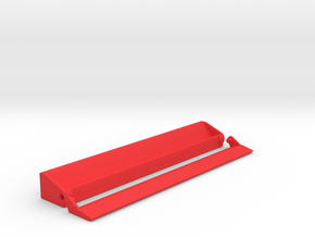 Scrabble Rack with Lid (Personalized) in Red Strong & Flexible Polished