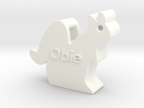 Big Obie the squirrel in White Strong & Flexible Polished