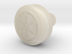 Galactic Empire Recharge Port Key in White Acrylic